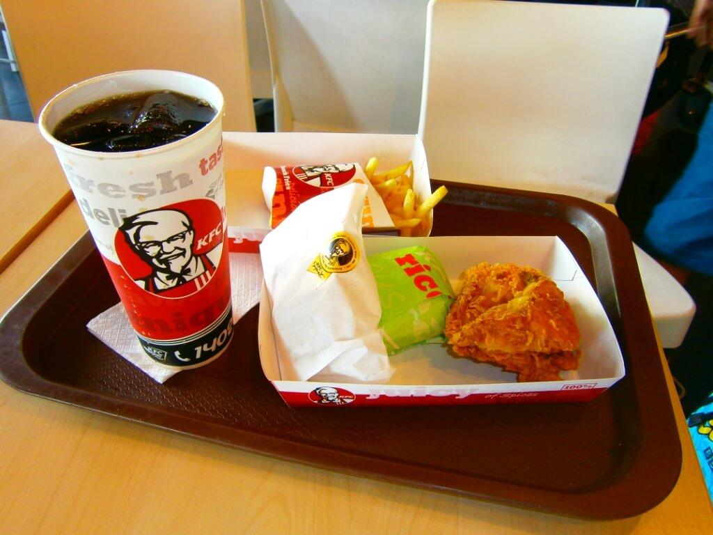Harga Menu KFC Paket Nasi Ayam