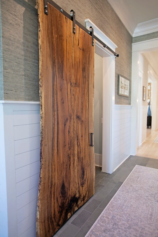 farmhouse style hallway runner