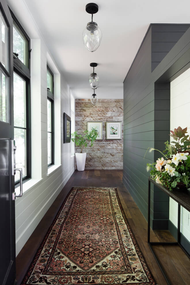 modern farmhouse hallway lights