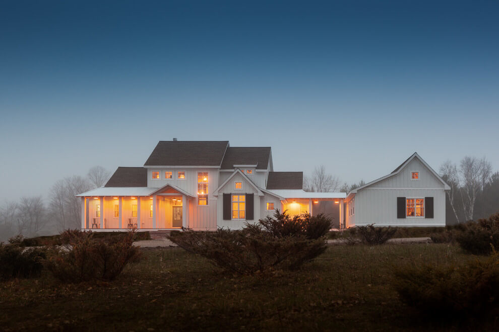 farmhouse blue exterior paint