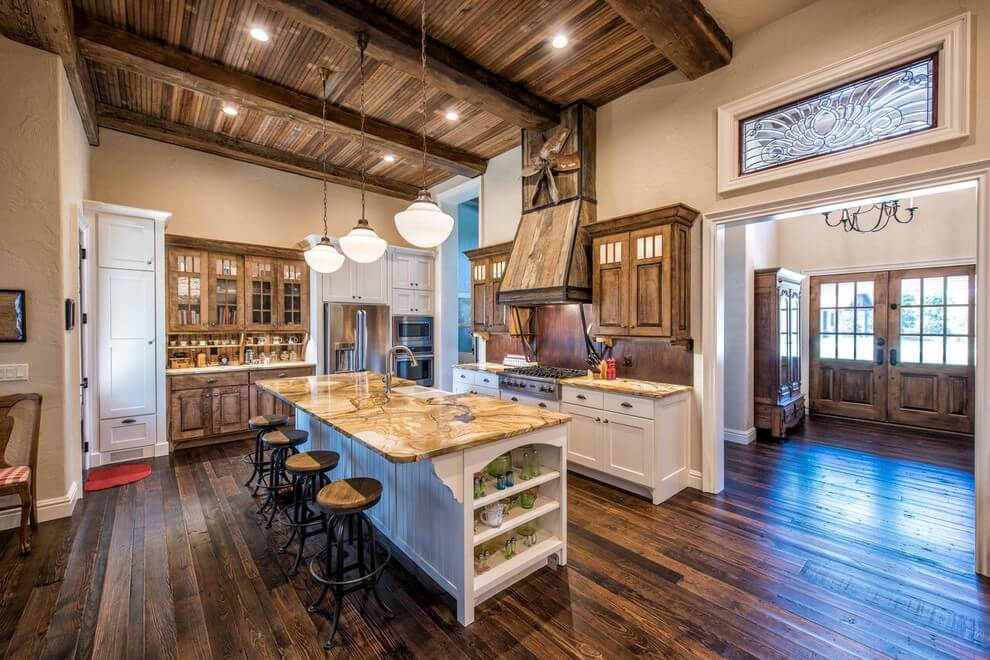 rustic barn kitchen ideas