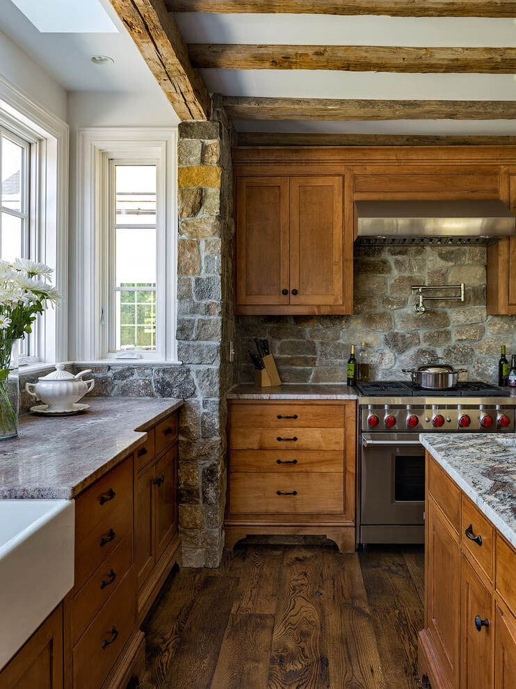 rustic kitchen curtain ideas