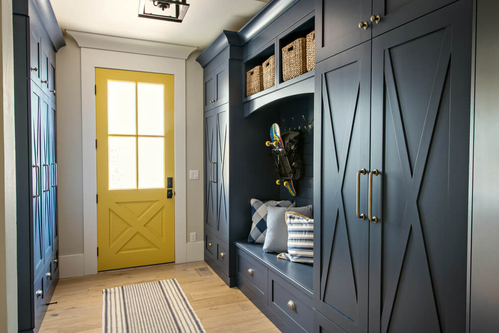 mudroom tile ideas