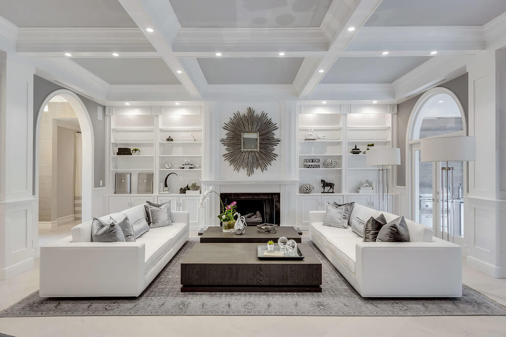 gray sectional living room ideas
