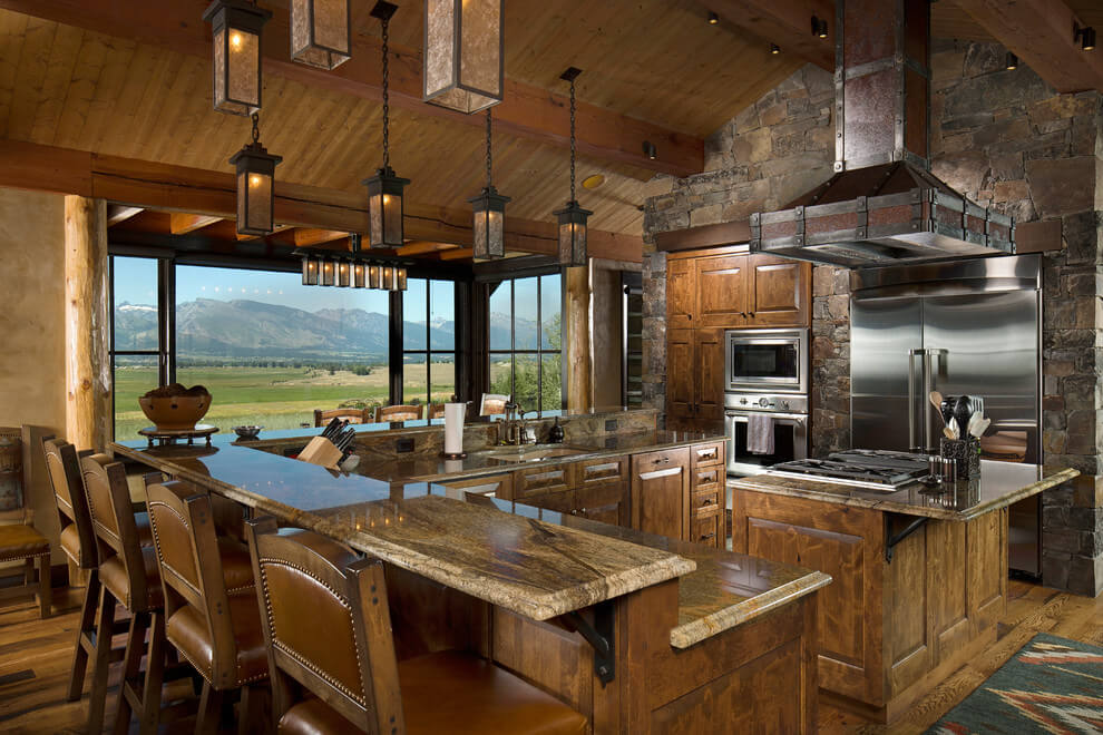 rustic kitchen ideas pinterest