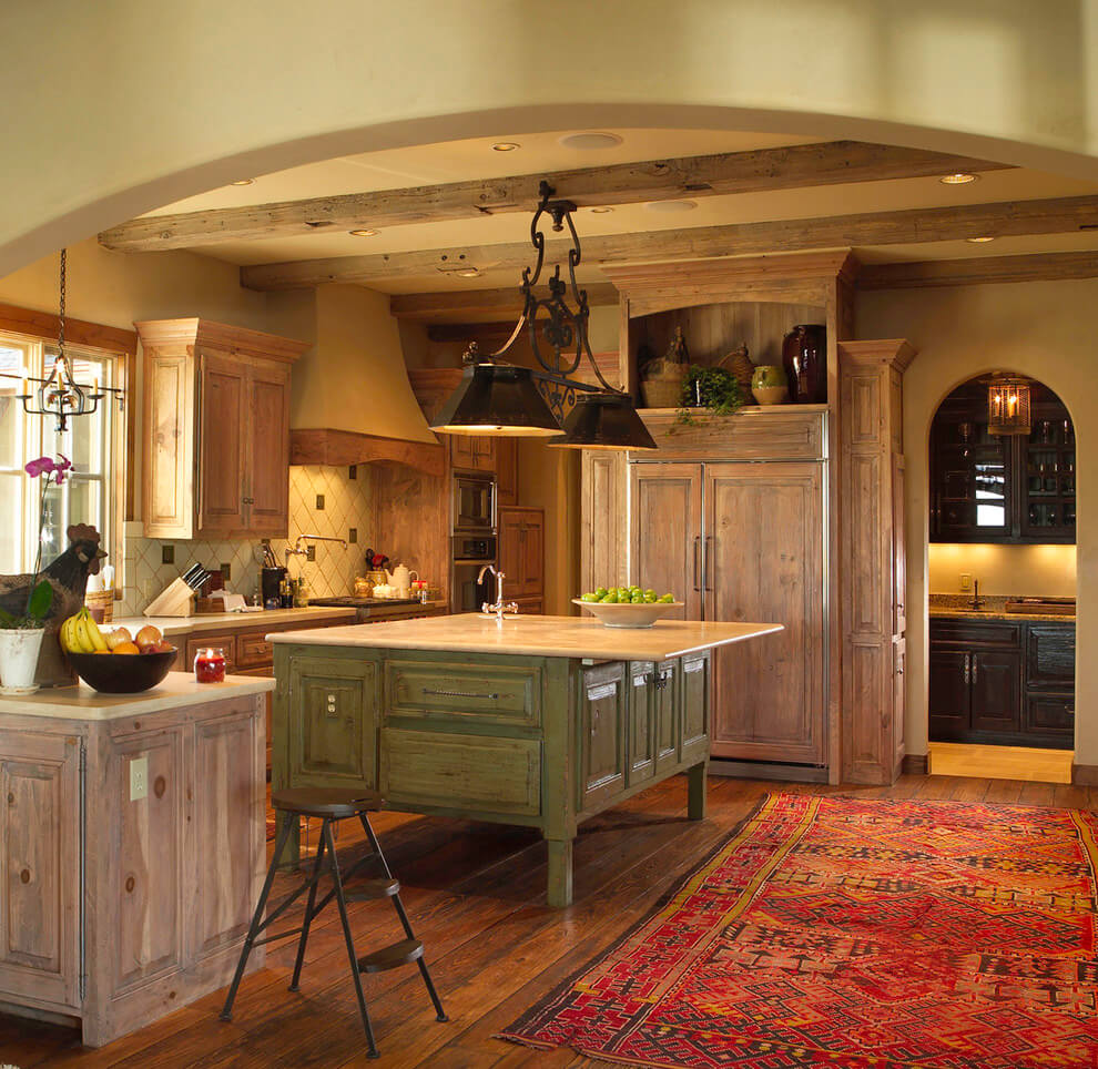 rustic americana kitchen ideas