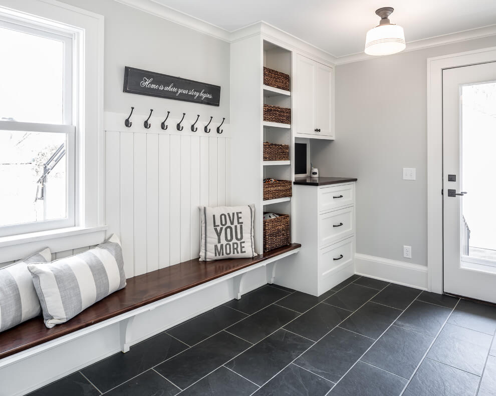 mudroom ideas garage