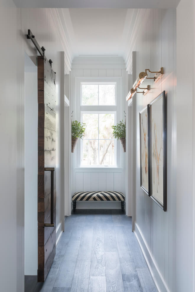 farmhouse hallway wall lighting