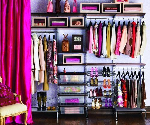 Unfinished Basement Ideas for an Exclusive Wardrobe