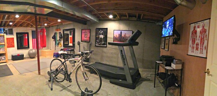 Unfinished Basement Ideas for Home Gym